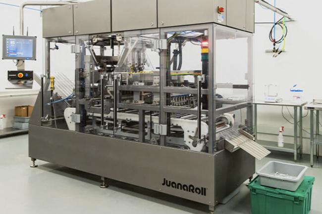 JuanaRoll Pre-roll machine at Sundial Growers